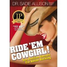 Ride'em Cowgirl Book by Sadie Allison