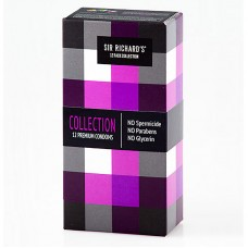 Condoms 12 Pack Collection- Sir Richard