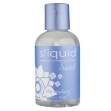 Sliquid Swirl Flavored Lubricant in Blue Raspberry 4.2oz/125ml